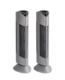 2 x luchtreinigers ionisator pr-369r zilver
